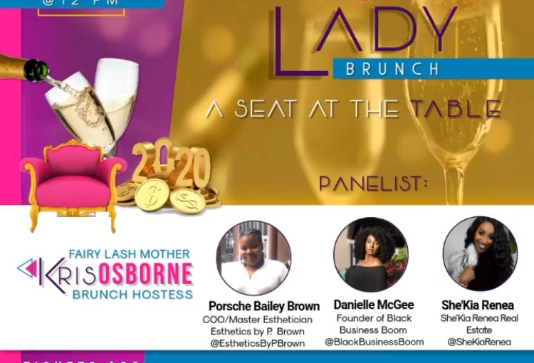 """Boss Lady Brunch 2020: """"A Seat at theTable"""""""